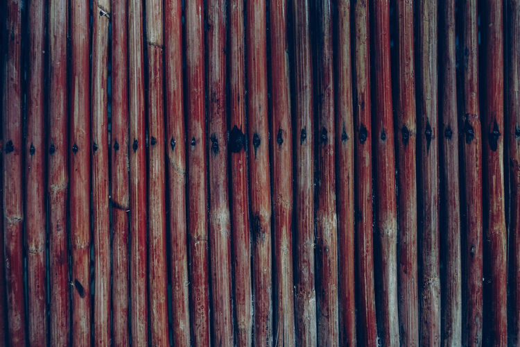 Full frame shot of wooden wall