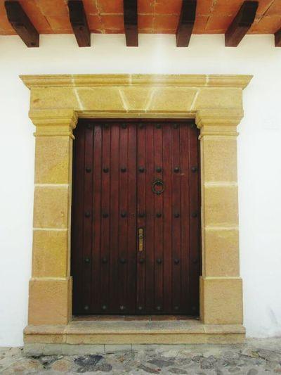 Door Architecture Closed Building Exterior Entrance No People Art Tradition Culture History Colombia ♥  Travel Destinations Love Architecture Architecture Arts Artphoto