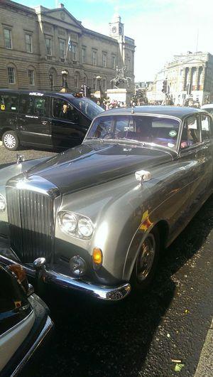 Classic Car Classic Cars Bentlymotors Vintage Cars Vintage Oldschool City Edinburgh Carspotting Wedding Weddingcar Cars