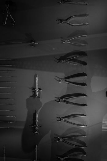 Surgical/ Medical Instruments Black And White Blackandwhite Instruments Medical Monochrome Photography Reflection Surgical Surgical Instruments Surgical Tool
