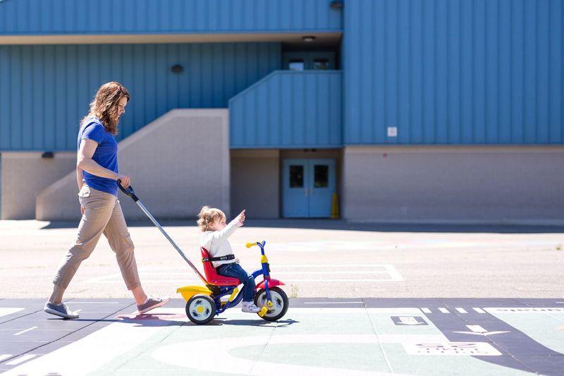 Child Children Playing Playground Onward Play Tricycle #urbanana: The Urban Playground