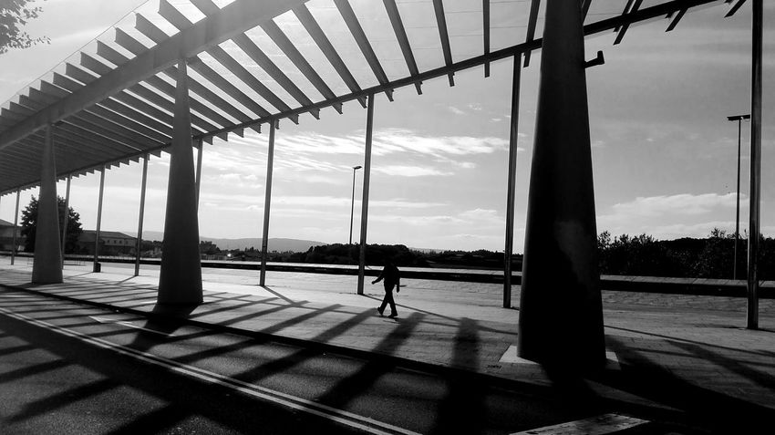 Lines Silhouette People Full Length Sky One Person Cloud - Sky Day Only Men Adults Only Adult Architecture Lifestyles Built Structure Real People Indoors  shadow