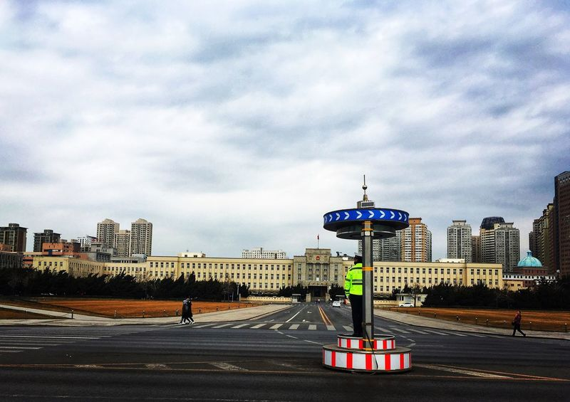 People Square in Dalian Dalian China Architecture Building Exterior Built Structure City Sky Cloud - Sky Transportation