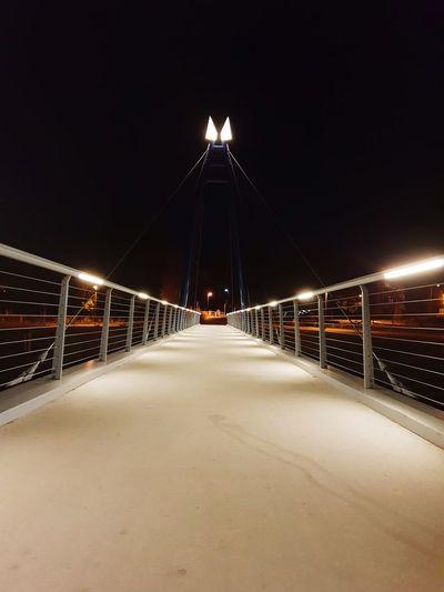 HUAWEI Photo Award: After Dark City Illuminated Bridge - Man Made Structure Long Exposure Light Trail Politics And Government Sky