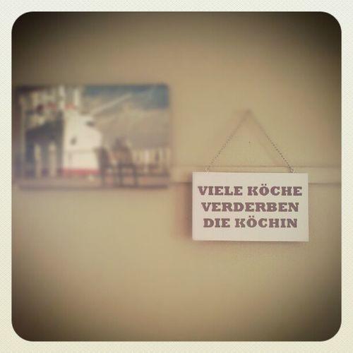 Spruch des Tages Welovehh gesehen in Hamburg Blankenese