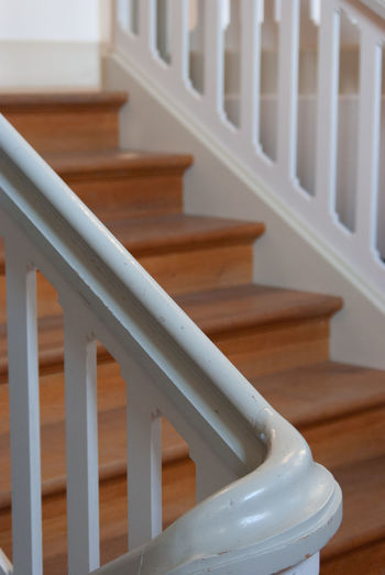 White handrail in style of herrnhut houses
