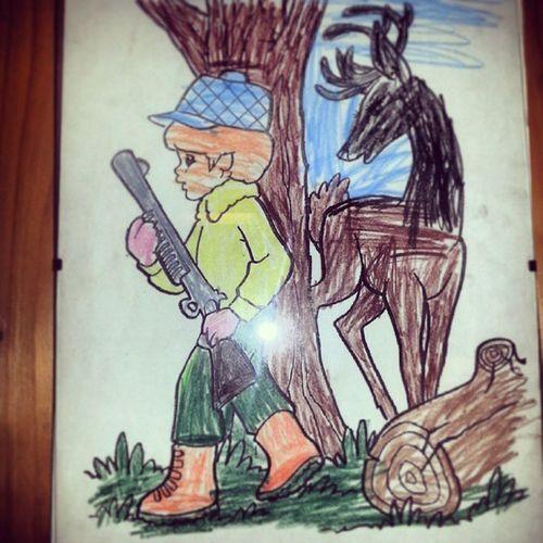 Min jaktbror Mats Nystad. Hunting Jakt Elgjakt Karasjok norge norway sauer tikka remington