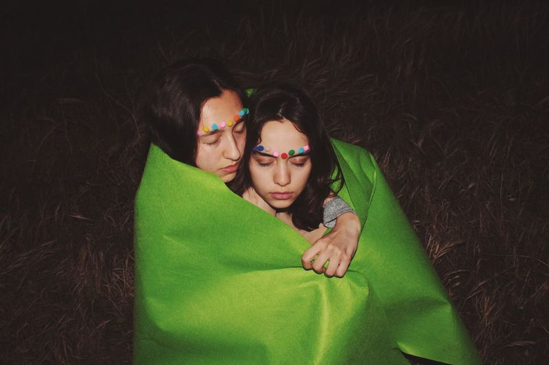 Unconditional Togetherness Girls Night Green Color Portrait Colors Craze The Portraitist - 2017 EyeEm Awards