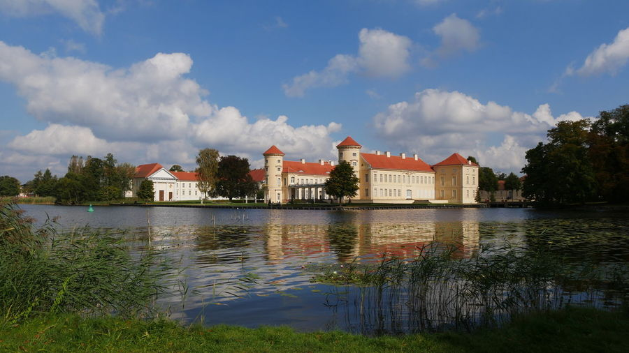 Castle Castle Park Historical Building Historical Sights Reflection Schloss Rheinsberg Architecture Beauty In Nature Building Exterior Built Structure Castle Grounds Castle View  Cloud - Sky Historical Place History Lake Lakeside Mecklenburgische Seenplatte Nature No People Outdoors Sky Tree Water Waterfront