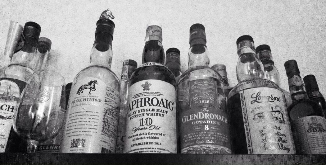 Nonalcoholic Whisky Bw_collection Blackandwhite