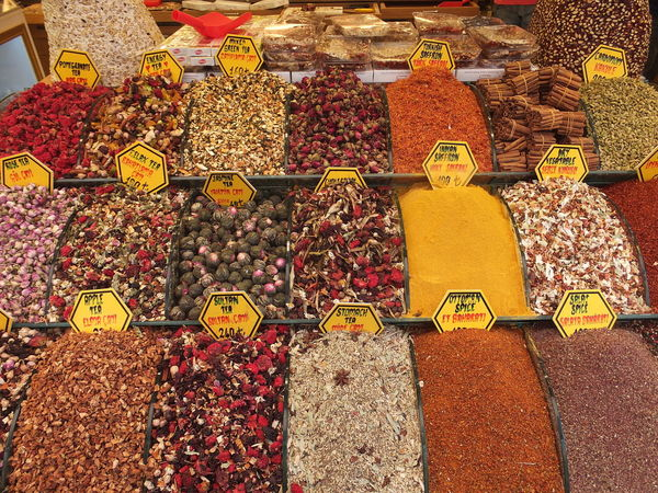 Spice Shop Display, Grand Bazaar Abundance Arrangement Choice Colourful Composition Consumerism Display Food For Sale Freshness Full Frame Grand Bazaar Indoor Photography Istanbul Large Group Of Objects Market Market Stall Multi Colored Price Tag Retail  Sale Small Business Store Turkey Variation