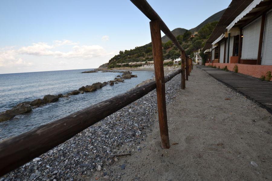 Italy: Cilento landscape Italy Sea Relaxing Coastline Seascape Calm Wave Shore Horizon Over Water Coast Coastal Feature Rocky Coastline