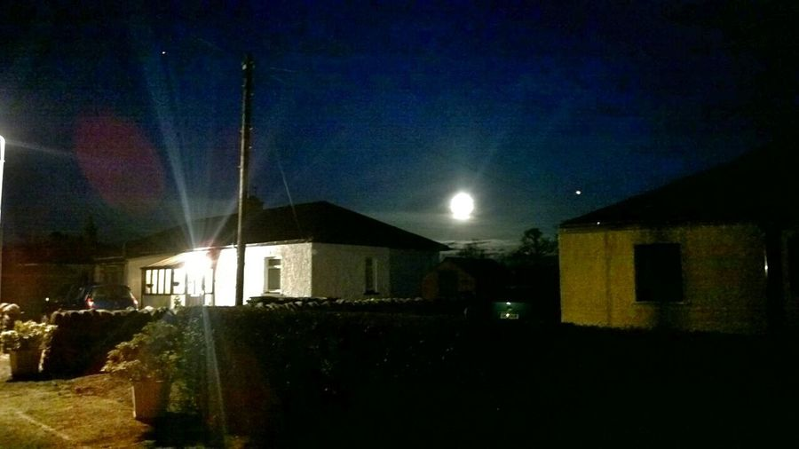 our moonlit house :-)