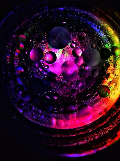 Oil Colorful