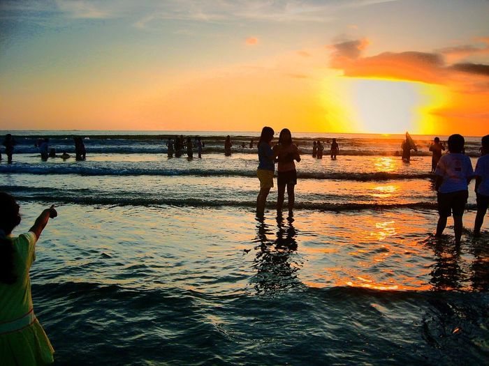 Sunset This Is Indonesia Bali Wonderful Indonesia Iphonephotography Showcase: January