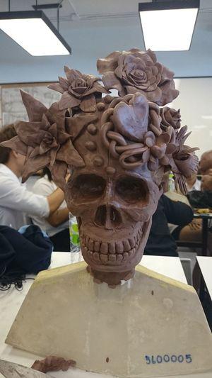 skull flower S