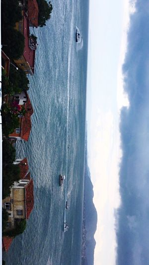 Sky Boat Sea Seascape First Eyeem Photo