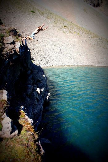 Crypt Lake! Hiking Mountains Canada Jumping