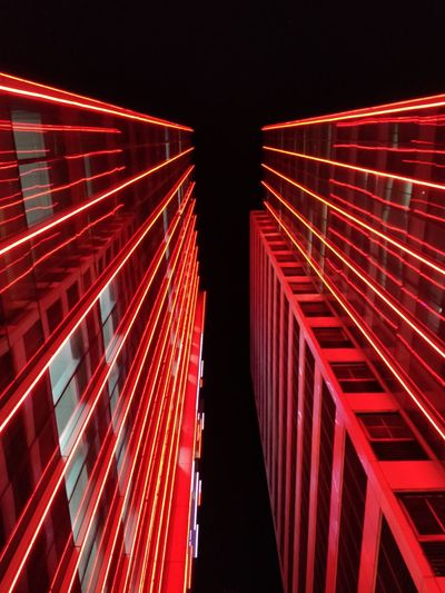 follow me on Instagram @lauriyow Dark Buildings Urban Urban Skyline Urban Skyline Urban Geometry Concrete Oneplus5photography Mobilephotography Bestoftheday Photo Photography Walking Around Walking Façade Architecture Red Night Outdoors No People Illuminated City Sky