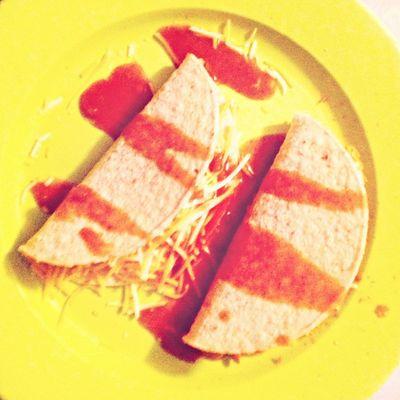 Homemade tacos today's ago