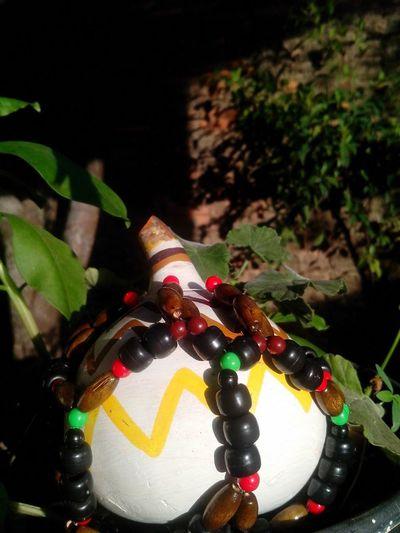 Xequerê Agbê Instrument Musical Instruments Instrumento Musical Africano Arte Artes Manuales  Artesanato Cores Eu Quem Fiz
