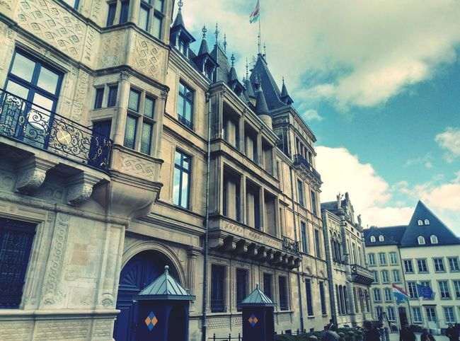 EyeEm Selects Architecture Building Exterior Built Structure Low Angle View Window Façade Arch History Travel Destinations Day Outdoors Sky City No People Tourism Travel Europe Luxembourg