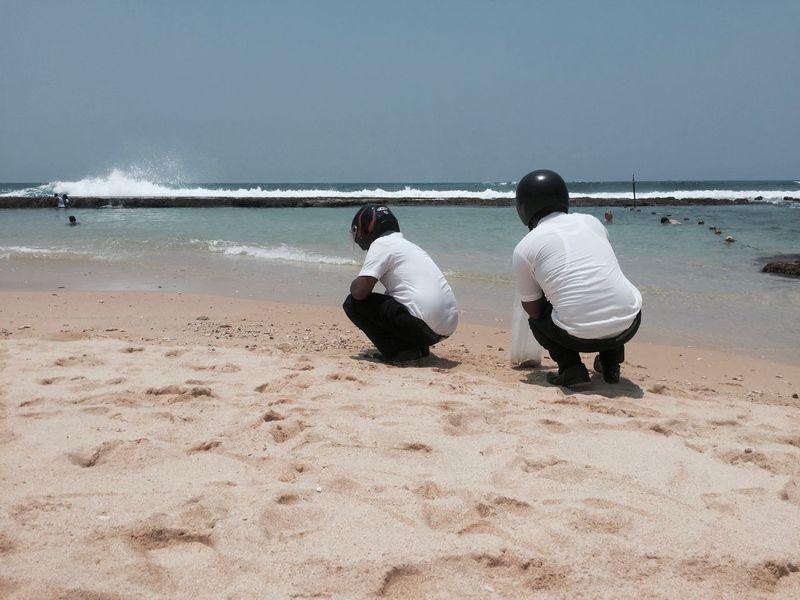 Helmet Beach Men Week On Eyeem