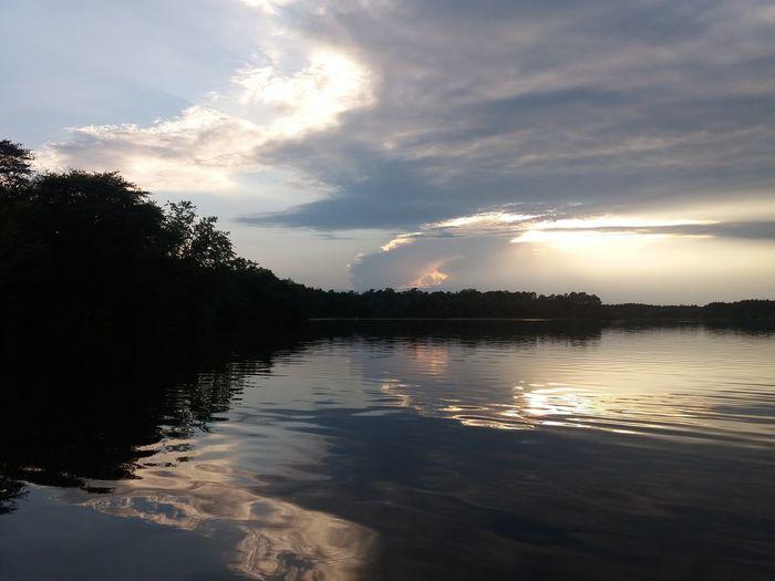 Kayaking Clouds
