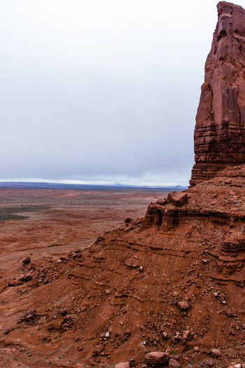 Impressive Countryside in Monument Valley Beach Day Horizon Over Water Landscape Monument Valley Tribal Park Nature No People Outdoors Scenics Sea Sky Statue Travel Destinations