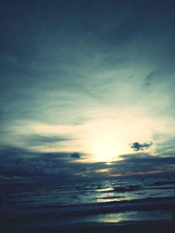 sleep sunset