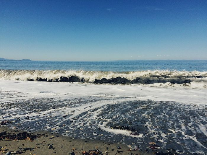 Nature Sky Clear Sky Day No People Outdoors Beauty In Nature Beach Waves Ocean PNW PNW Summers