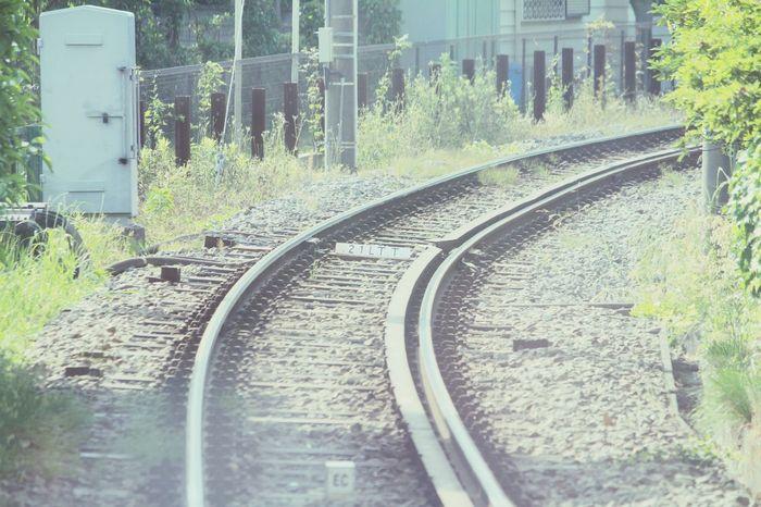 Railway Singleline 江の電車内から見た風景 Kamakura Enoden Enoden Railway