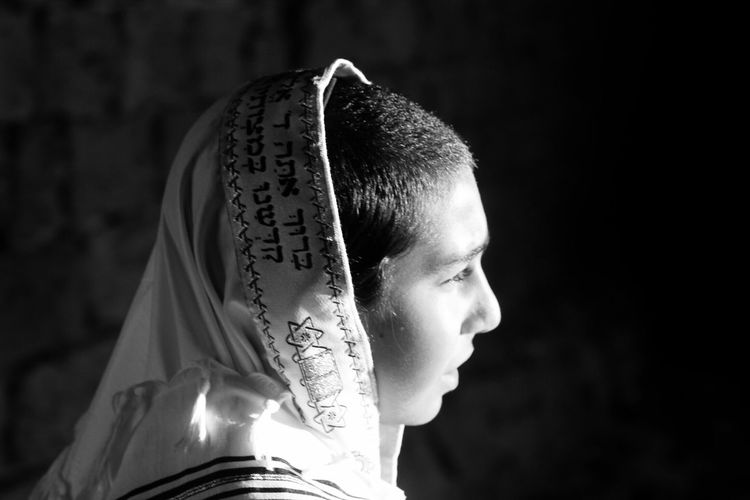 Religion. Focus On Foreground Close-up Selective Focus Part Of Obscured Face Outdoors Day Religion Jewish Portrait Black And White Blackandwhite Black & White Blackandwhite Photography