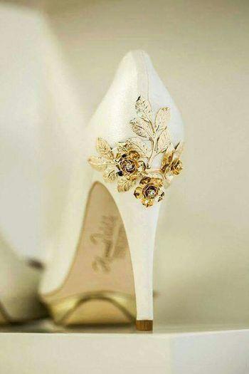 Zapatos hermosos para una boda perfecta