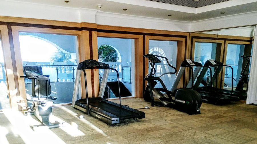 Gym Equipment Gym Gym Walker Window No People Indoors  Iron - Metal Architecture Day Exercise Time