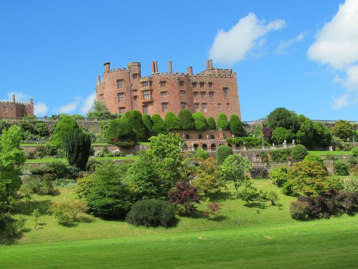 Architecture Building Exterior Sky Cloud - Sky Castle Outdoors Travel Destinations History Powys Castle