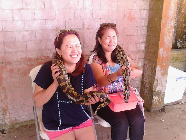 withmysister snake encounter feeling nervous firstime Bonding Time Having A Great Time Its More Fun In The PHILIPPINES!