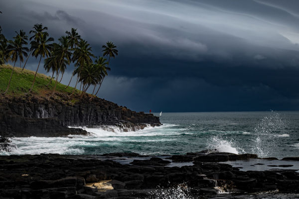 Storm approaching São Tomé Sao Tome Sao Tome And Principe Africa Beach Beauty In Nature Cloud - Sky Day Horizon Over Water Island Nature No People Outdoors Power In Nature Rock - Object Scenics Sea Sky Tranquil Scene Tranquility Water Wave