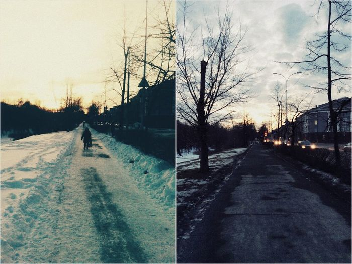 It's unbelievable! only two days have passed, and everything has changed. hello, winter, again!:( Snow Again Spring?