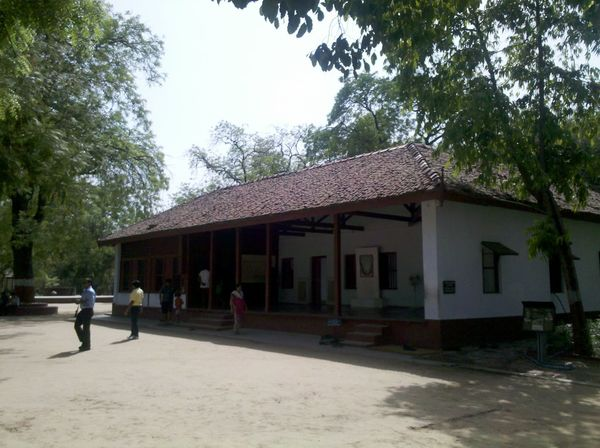 Architecture Building Exterior Built Structure Day Nature No People Outdoors Sabarmati Ashram Sky Tree