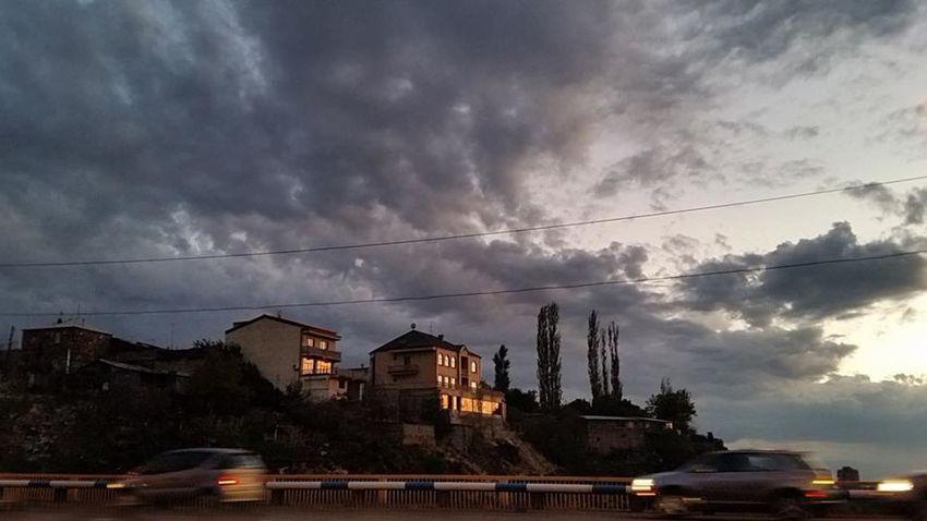 Sky Streetphotography Urban Nature Road Sunset Evening Twilight Twilight Sky Twilight In Heaven