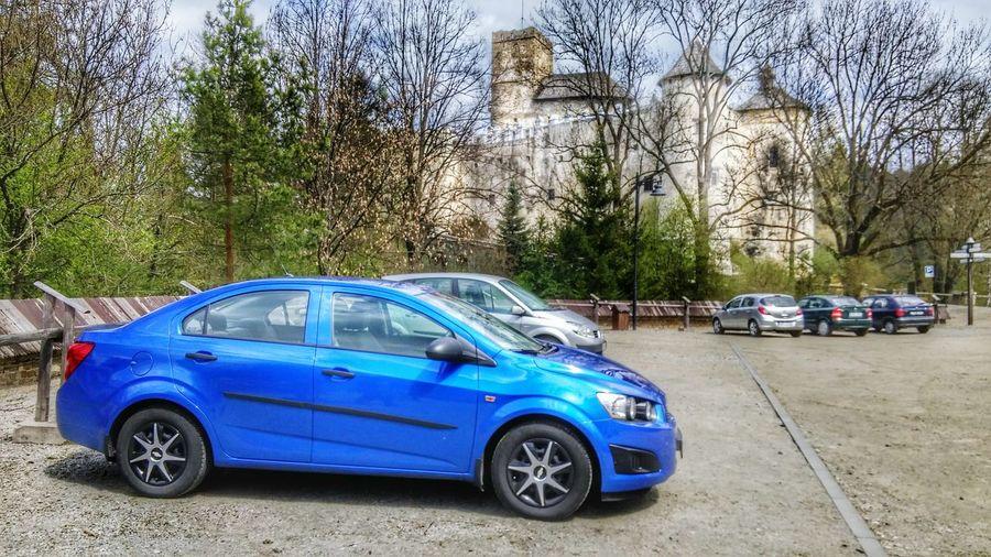 Car Day Photo Architecture Parking Chevrolet Castle Niedzica Pieniny Poland Pieniny Mountains Sky Blue Sky Relax Poland Tourism