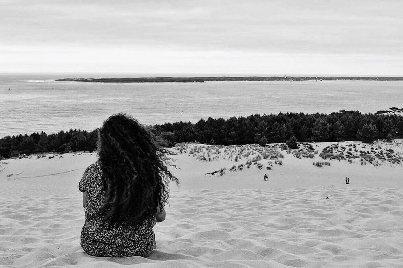 une longue absence Landscape Collection Landscape_photography Photography Photo Landscapes With WhiteWall Blackandwhite White Color Check This Out Dune Du Pyla