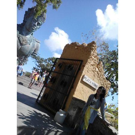 Wisnu Statue Garuda Wisnu Kencana Gwk Bali Bali, Indonesia