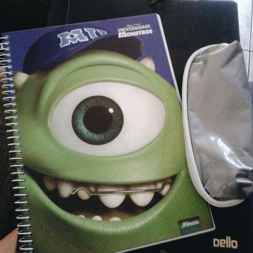 Segunda começa as minhas aulas, nada melhor que um caderno pra mostrar minha maturidade.