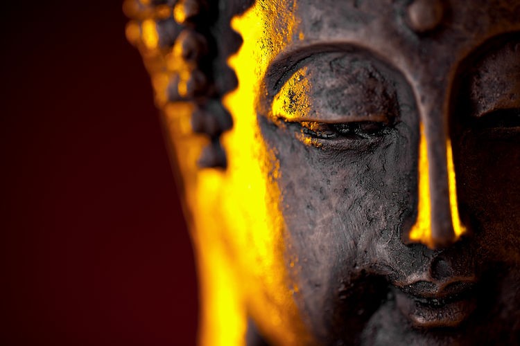 Buddha's head Ancient Antique Buddah Buddha Buddhist Copy Space Japan Meditation Statue Art Background Budda Statue Chinesse Decoration Face Light And Shadow Lotus Orient Oriental Peaceful Sculpture Sprituality Stone Temple Zen