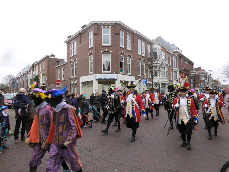 Architecture Building City City Life City Street Day Enjoyment Outdoors Parade Repetition St Nicolas Street Togetherness Traditions Zwarte Piet