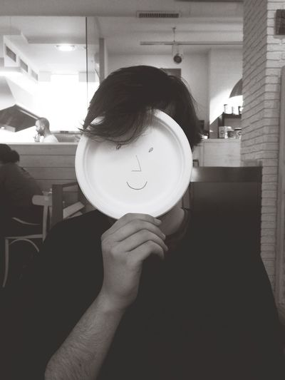 :^) Coffee And Cigarettes On A Date Boyfriend Funnyface First Eyeem Photo