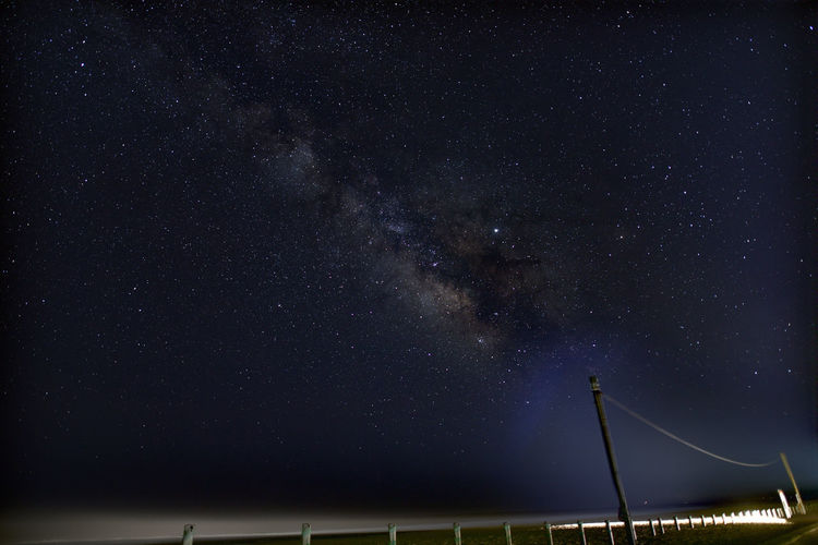 Night Space Star - Space Astronomy Sky Galaxy Scenics - Nature Star Beauty In Nature No People Star Field Low Angle View Nature Infinity Architecture Built Structure Illuminated Outdoors Milky Way Tranquil Scene Space And Astronomy KujukuriBeach Chiba