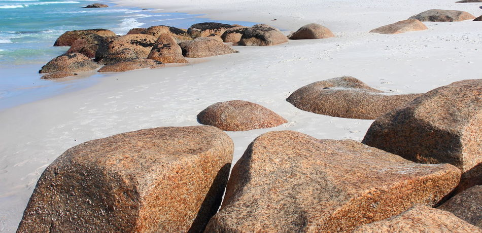 Australia Australian Landscape Bay Of Fire Bay Of Fires Beach Beauty In Nature Beauty In Nature Coastline Day Nature Nature No People Outdoors Rock - Object Sand Scenics Sea Sky Tasmania TasmaniaAustralia Tranquil Scene Tranquility Water